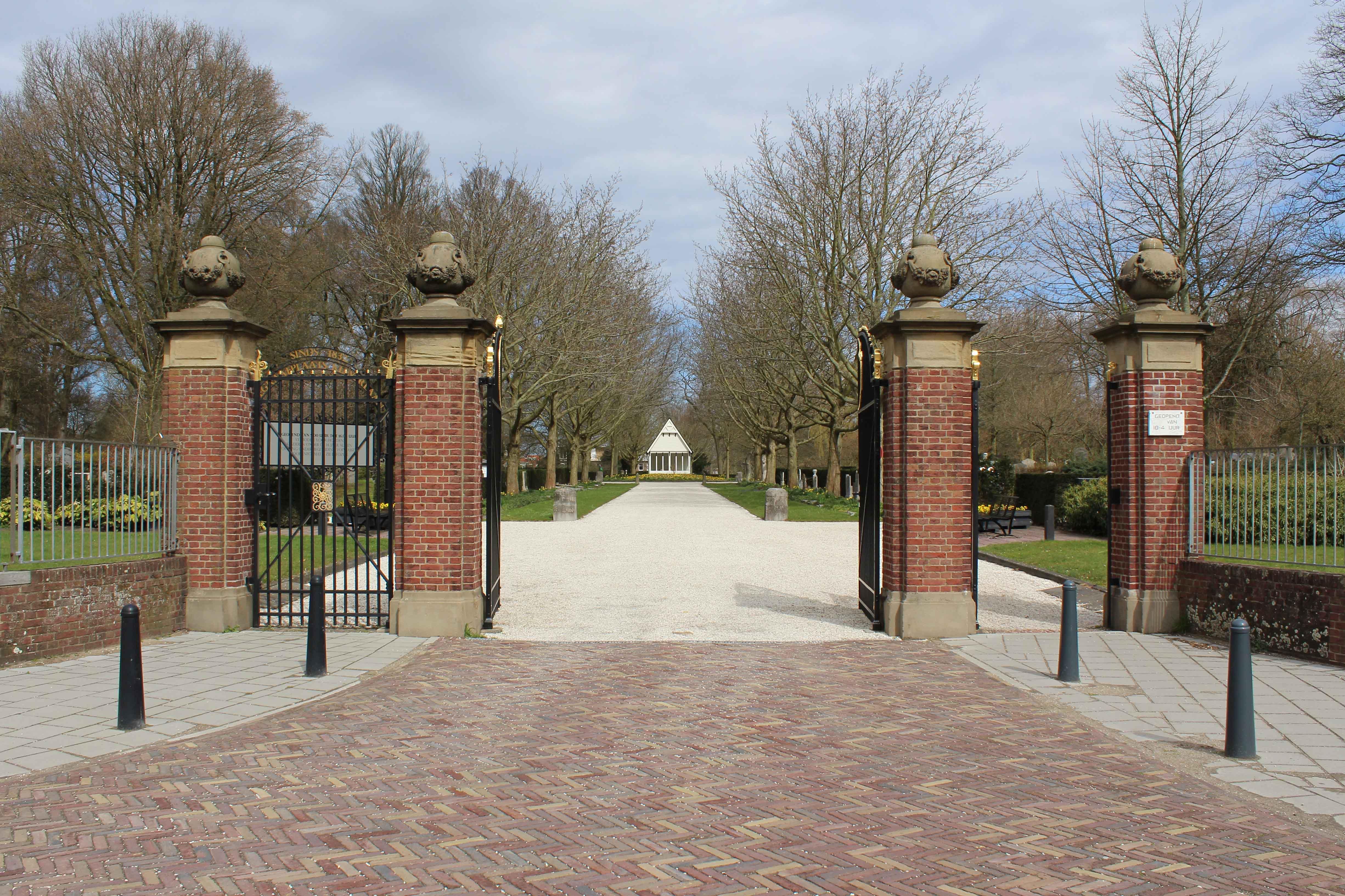 Begraafplaats Kleverlaan Gemeente Haarlem