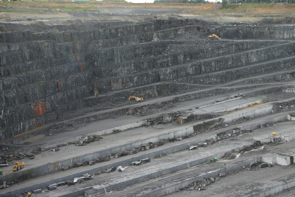 Belgisch Hardsteen groeve