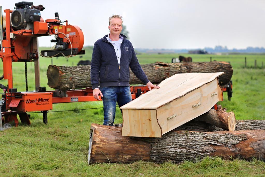 regio houten doodskist
